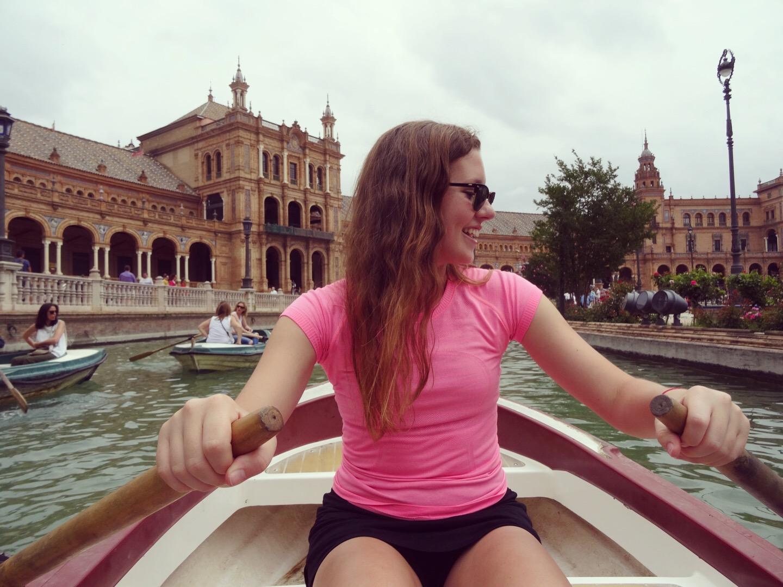 Caroline Frankenfeld, Boat, Tour, Europe, Spain