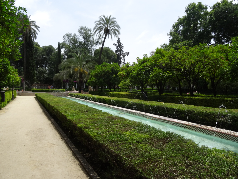 Caroline Frankenfeld, Garden, Spain