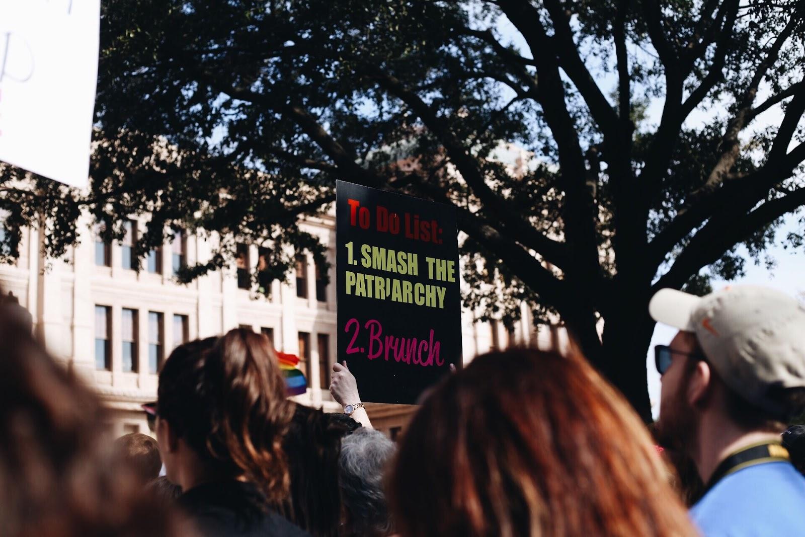 kyler wesp, woman, protest, politics