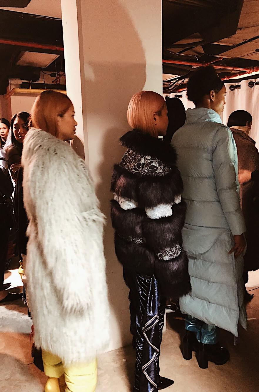 Jennifer Ellis writes a recap on NYFW on University Fashion Group members experiences in the city as interns for fashion designers