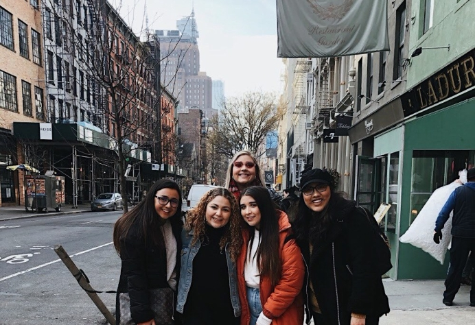 Jennifer Ellis writes a recap on NYFW on University Fashion Group members experiences in the city as interns for fashion designers