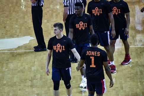 Ole Miss University men's basketball repping Andrew Jones | Photo Credits: Getty Images