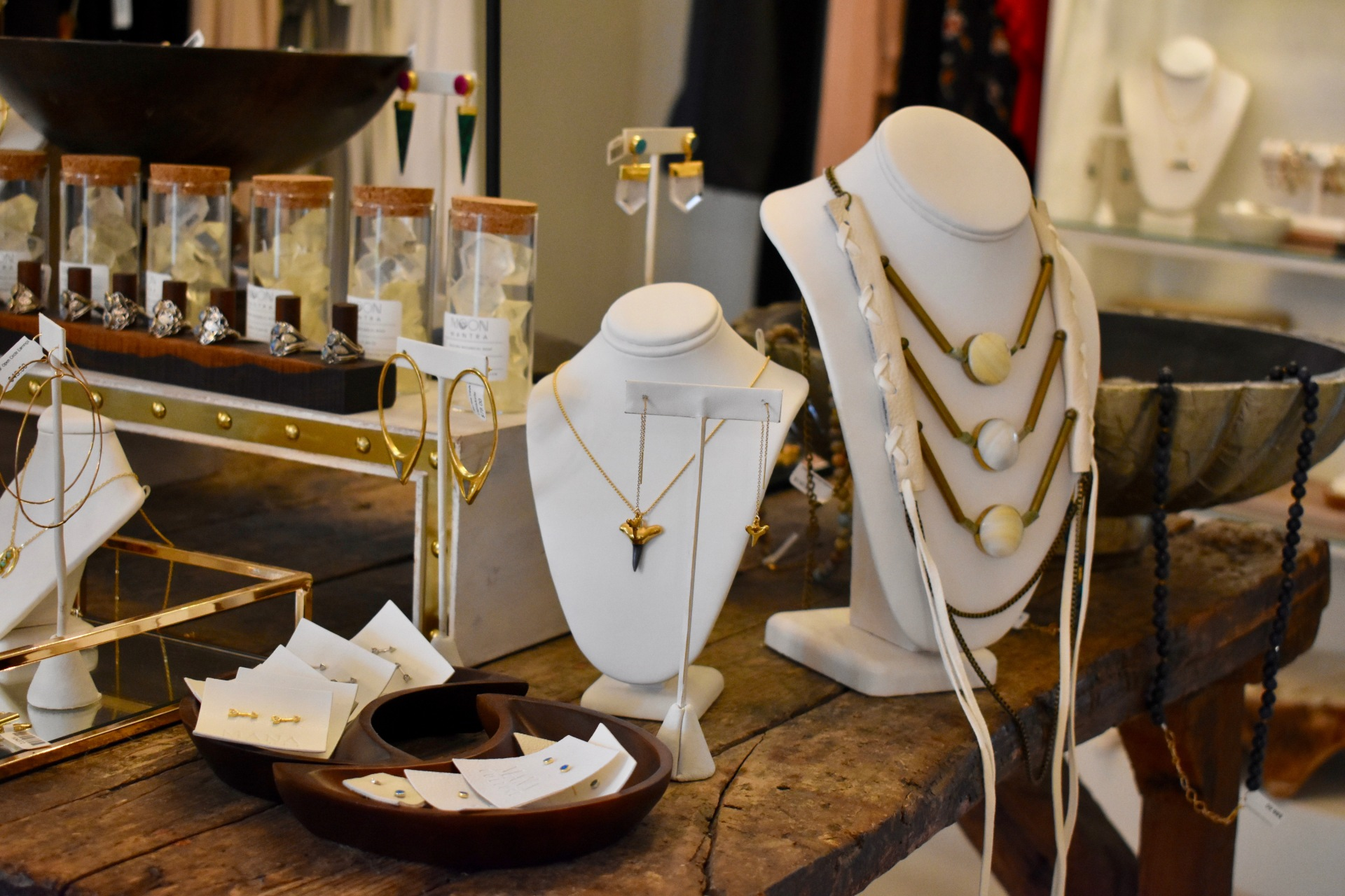 Daniela Perez visits local artisans to learn about their jewelry and their craftsmanship and history of their businesses