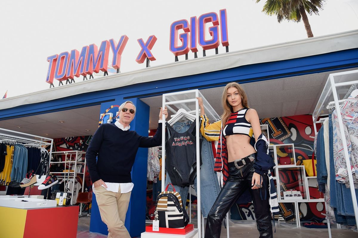 Paddy Ghaemi writes about the american designer Tommy Hilfiger and his career in the fashion retail and design industries