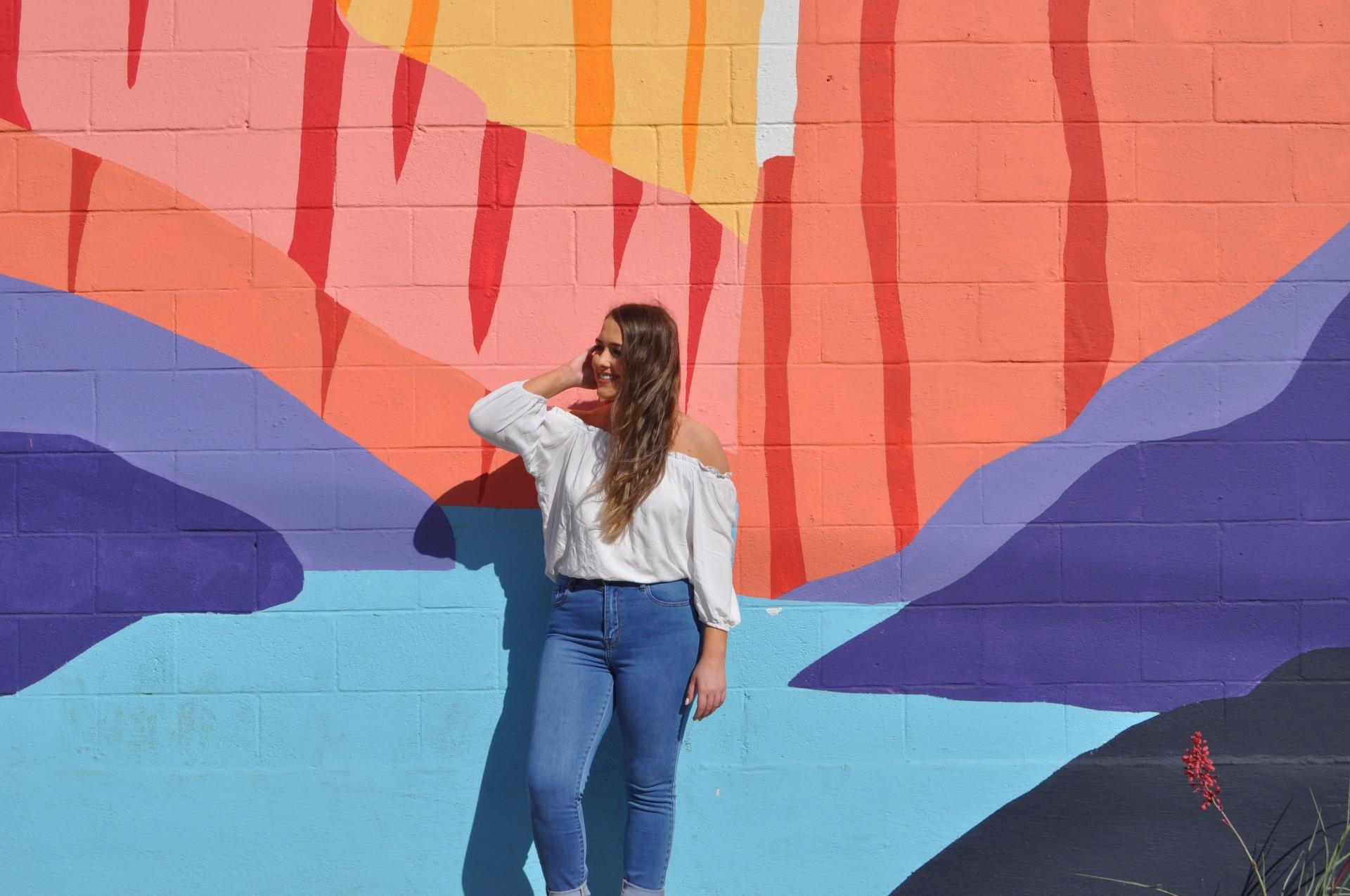 Jennifer Ellis ten murals Austin perfect photoshoot location