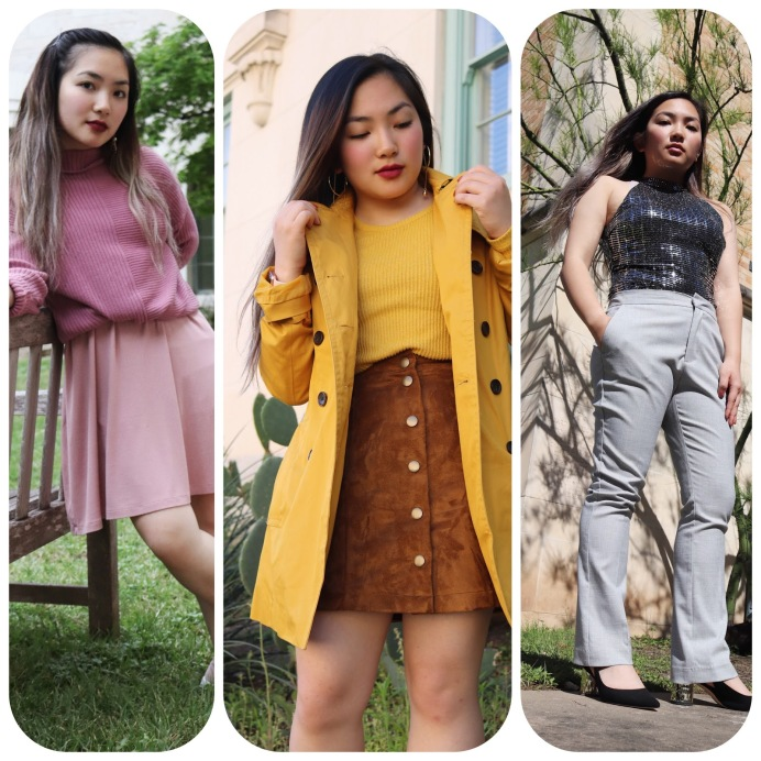 Elizabeth Nguyen takes on the monochromatic outfit challenge one school week to wear one color head-to-toe instead of the usual outfit of t-shirts and leggings to learn how to style and feel better in class in great outfits