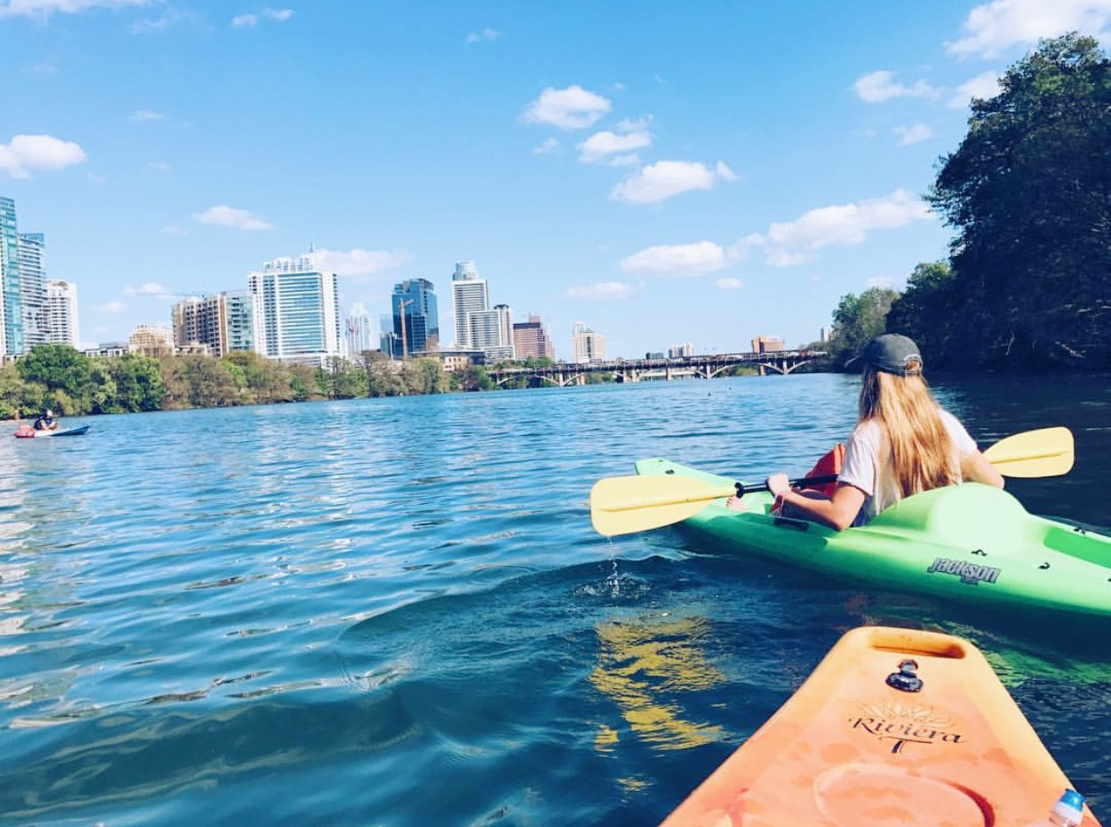 Madison Hager shares six hot spots in Austin to soak up the sun and get outside and go on adventures with these local summer bucket list places