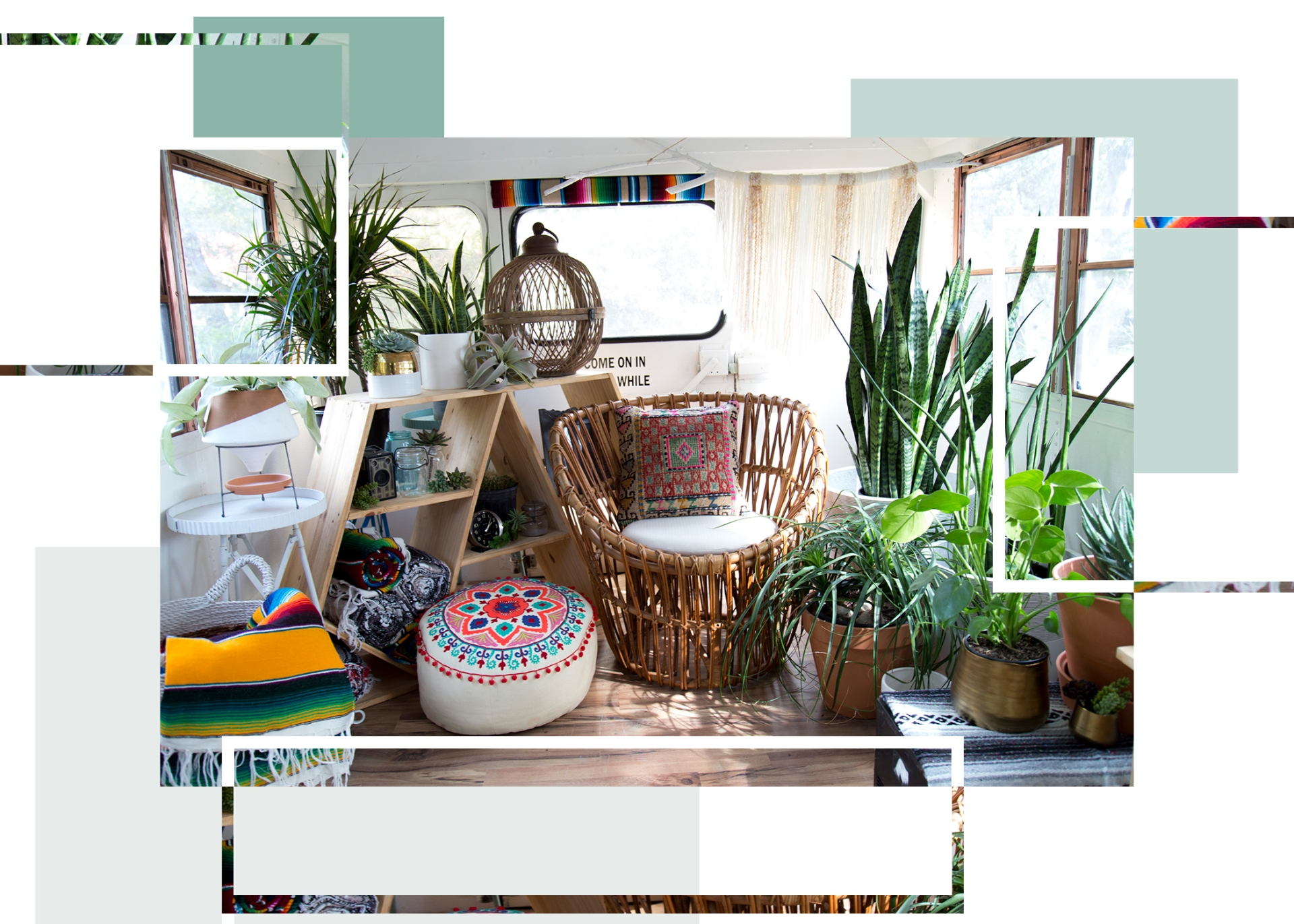 Caitlin Rounds writes about Caitlan Lochridge and her mobile store To the Moon Bus which also can be rented out as a party and event space featuring her adorable bohemian products from local vendors