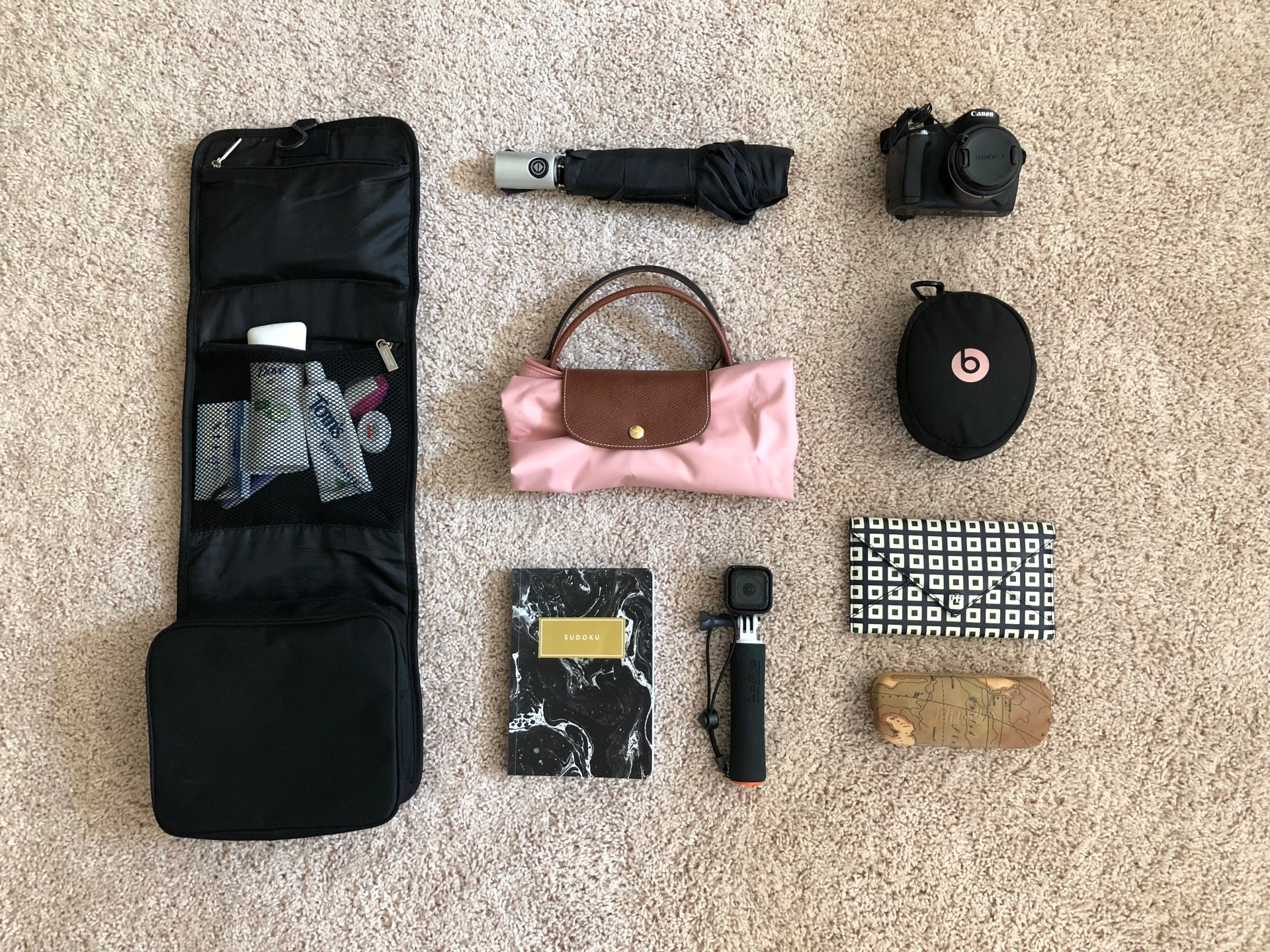 Sarah Tran traveling Korea study abroad what to pack backpacking